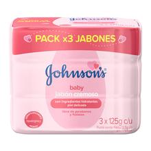 Jabón Cremoso JOHNSON'S® Baby Humectante